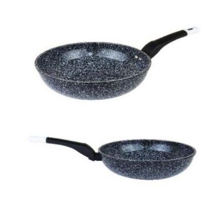 Сковорода WOK Edenberg EB-4128 с антипригарным гранитным покрытием 28 см | Cковородка вок