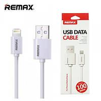 Шнур провод для зарядки айфона Lightning Remax OR Fast RC-007i iPhone 1m белый