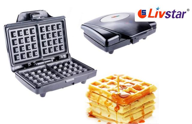 Вафельница LIVSTAR LSU-1214 для бельгийских вафель