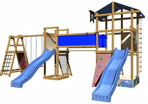 Детские игровые комплексы для улицы SportBaby-12