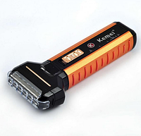 Профессиональная мужская портативная электробритва Kemei TXD-KM 1120, фото 1