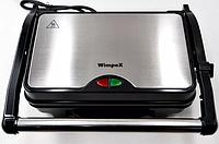 Гриль прижимной домашний Wimpex BBQ WX 1066 | тостер | сэндвичница | электрогриль | бутербродница, фото 1