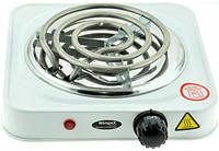 Электроплита WimpeX WX-100B плита настольная спиральная (1 конфорка), фото 1