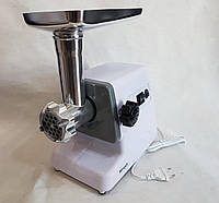Электромясорубка WimpeX WX-3075 2000W | мясорубка с насадками кеббе и для ягод, фото 1