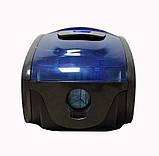 Пылесос контейнерный без мешка Grant GT-1604 3000 Вт Синий (синяя ручка), фото 3