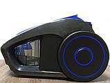 Пылесос контейнерный без мешка Grant GT-1604 3000 Вт Синий (синяя ручка), фото 6