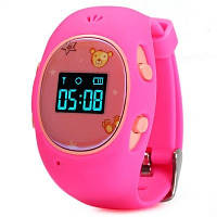 Детские часы с GPS-трекером G65 Розовые | смарт часы | умные часы, фото 1