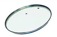 Крышка стеклянная без ручки Con Brio СВ-9020 (20 см) | стеклянная крышка Con Brio | крышка стекло, фото 1