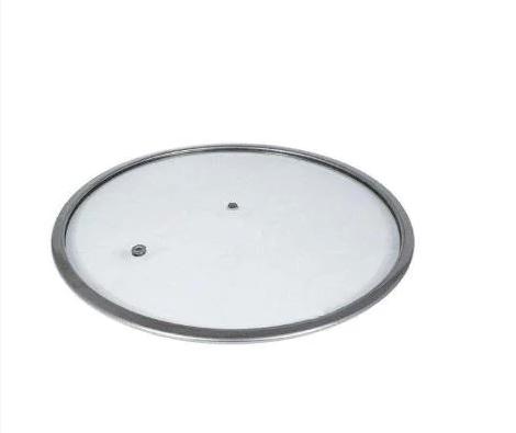 Крышка стеклянная без ручки Con Brio СВ-9322 (22 см)   стеклянная крышка Con Brio   крышка стекло