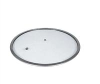 Крышка стеклянная без ручки Con Brio СВ-9322 (22 см)   стеклянная крышка Con Brio   крышка стекло, фото 1
