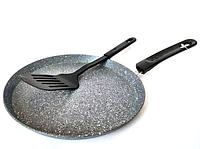 Сковорода блинная Bohmann BH 71010-24 MRB с мраморным покрытием   Сковорода для блинов, фото 1