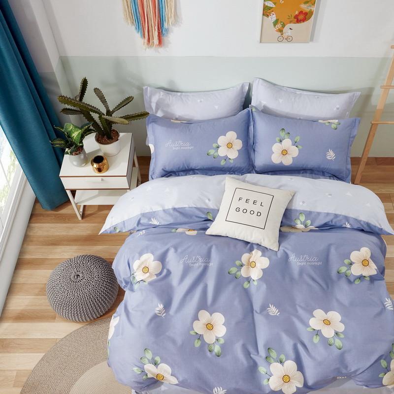 Комплект постельного белья Bella Villa сатин Евро фиолетовый