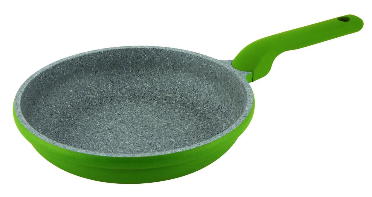 Сковорода с антипригарным покрытием Con Brio СВ-2826 (28 см) | сковородка Con Brio зелёная