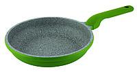Сковорода с антипригарным покрытием Con Brio СВ-2826 (28 см) | сковородка Con Brio зелёная, фото 1