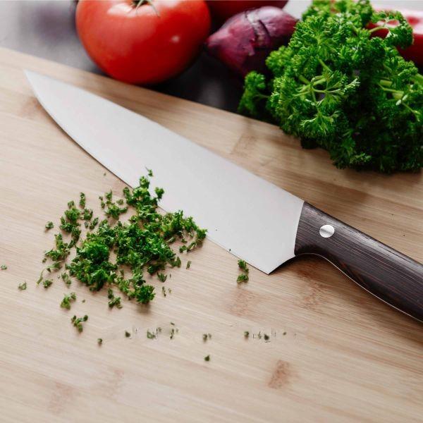 Нож сантоку Berghoff Redwood 1307159 (17,5 см) | универсальный ножик Бергофф | ножи кухонные Бергоф