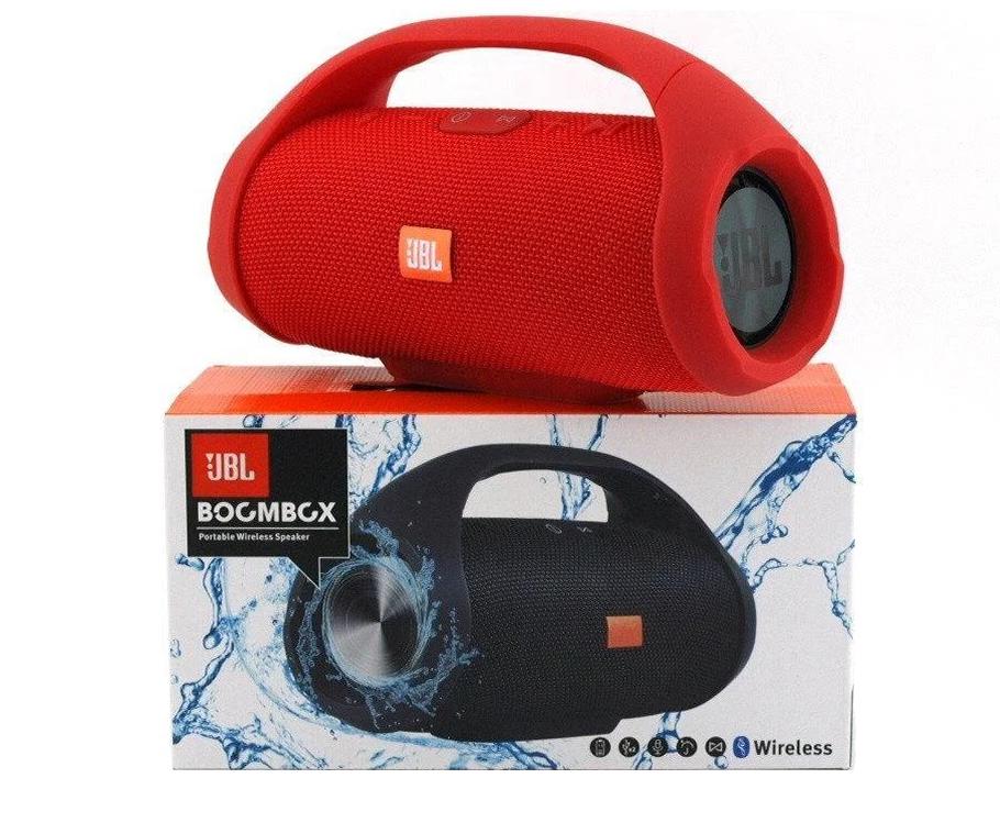 Портативная Bluetooth-колонка JBL Boombox BIG c функцией PowerBank и FM radio (Красная)