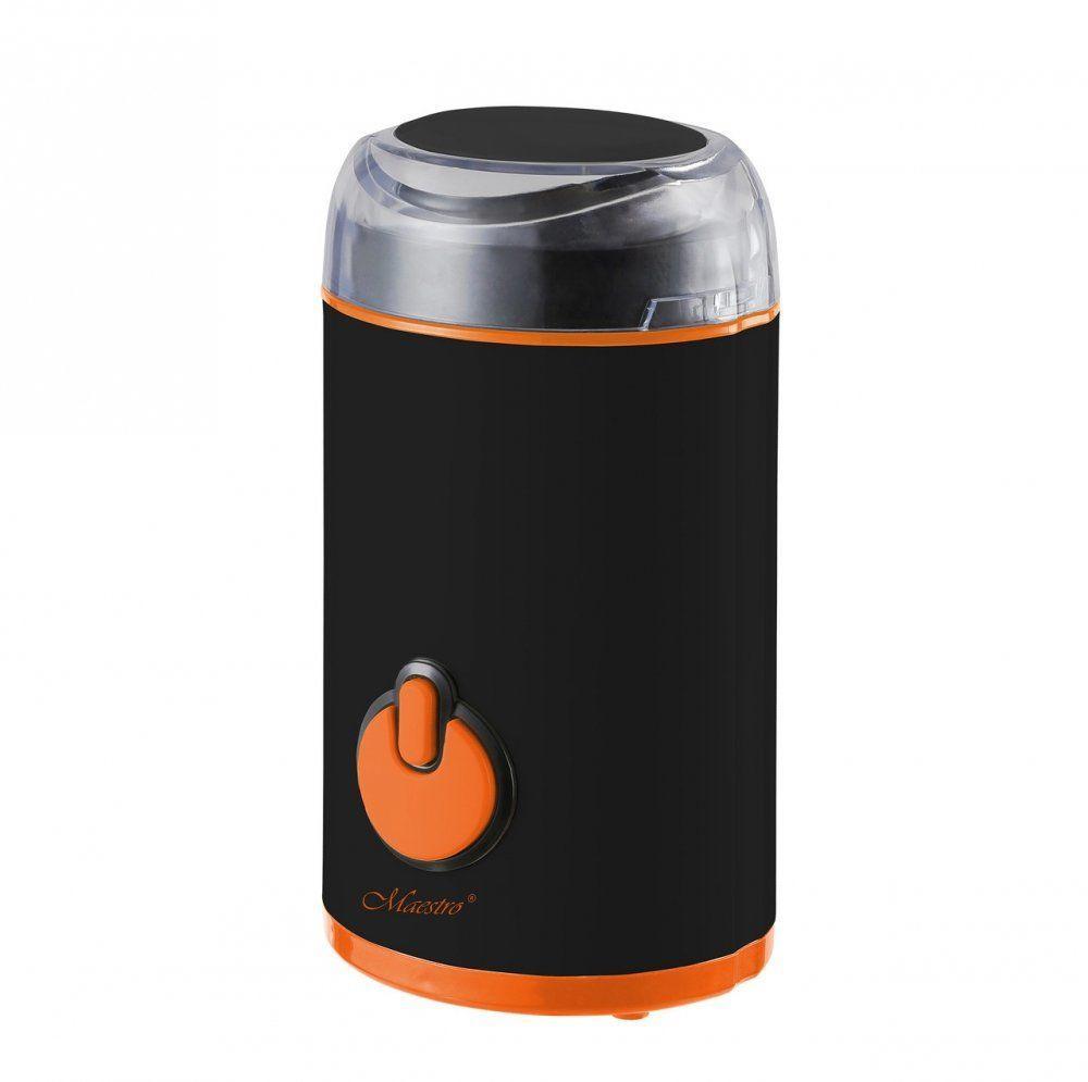 Кофемолка Maestro MR-452 черная | измельчитель кофе Маэстро | аппарат для помола кофе Маестро