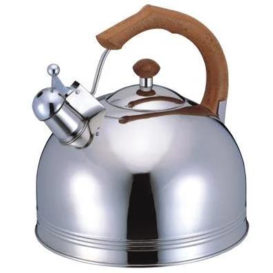 Чайник со свистком Bohmann ВH 9980 GDO 4л | Металлический свистящий чайник