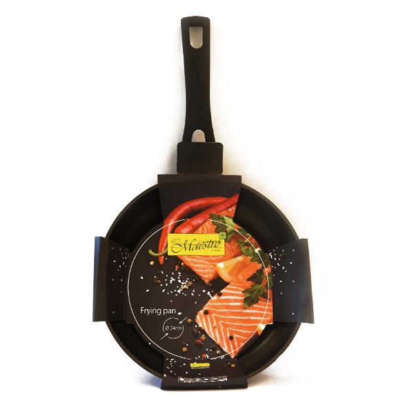 Сковорода Maestro MR-1213-28 (антипригарное покрытие, Ø 28 см) | сотейник Маэстро, Маестро