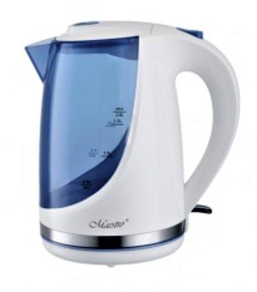 Электрочайник Maestro MR-044 (1.7 л, 2200 Вт) синий | электрический чайник Маэстро | чайник Маестро