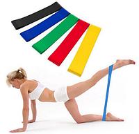 Фитнес резинки 5 в 1 Esonstyle | Набор резинок тренажеров для занятий фитнесом