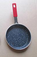 Сковорода с антипригарным покрытием Con Brio Mini СВ-1414 (14см)   сковородка Con Brio красная, фото 1