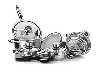 Набор кухонной посуды Top Kitchen Banoo TK0008 Премиум из 20 пр. кастрюли с термодатчиками+аксессуары