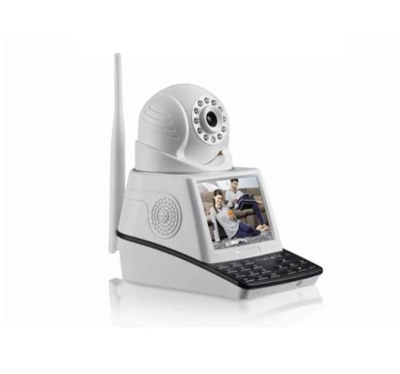 Камера с экраном NET CAMERA и датчиком движения | Поворотная камера видеонаблюдения 4 в 1 с экраном