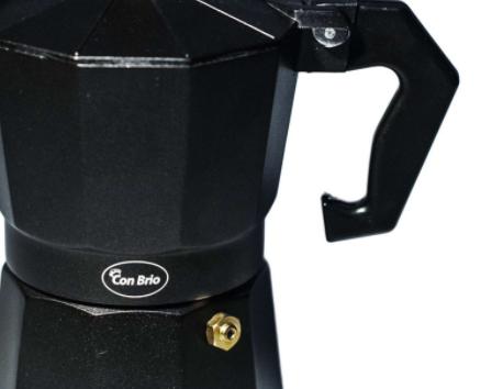 Гейзерная кофеварка Con Brio CB-6403 на 3 чашки | турка Con Brio