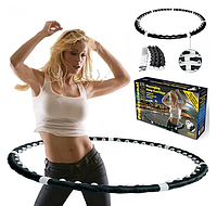 Массажный обруч хулахуп разборной Massaging Hula Hoop Exerciser, фото 1