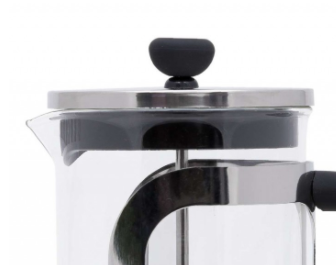 Френч-пресс для заваривания Con Brio СВ-5510 (1000 мл) стекло+пластик   заварник Con Brio   заварочный чайник