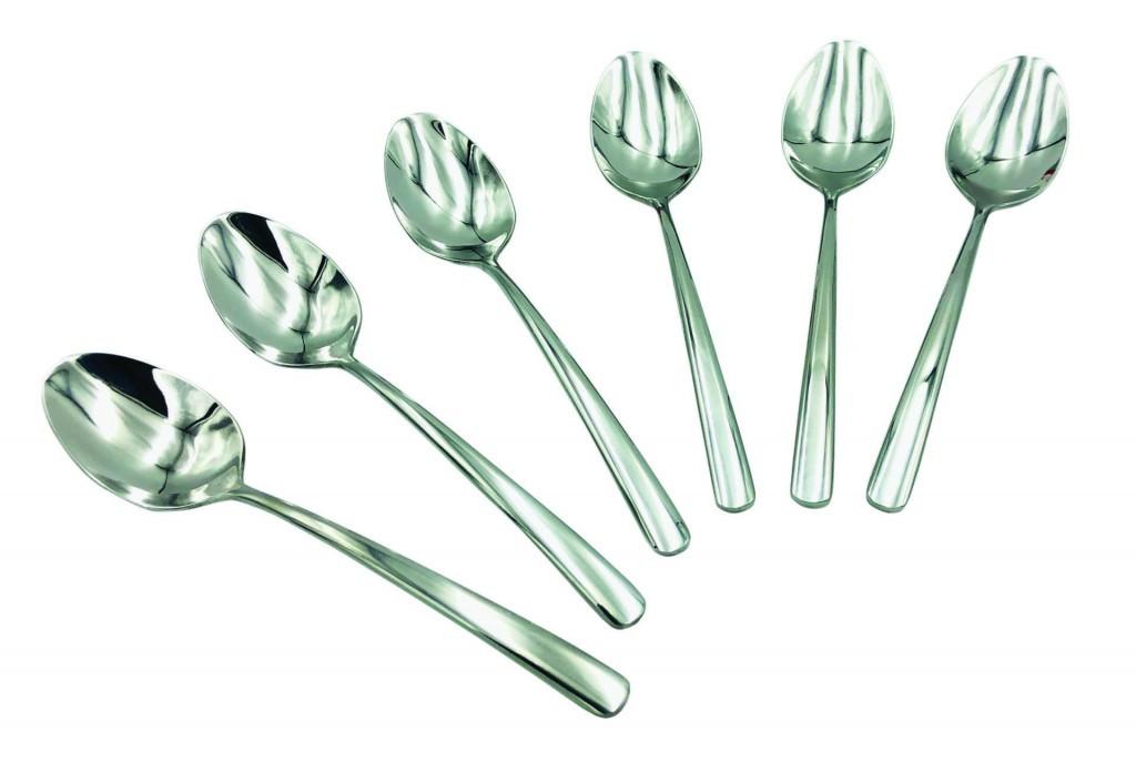 Набор десертных ложек Con Brio СВ-3607 из 6 предметов нержавеющая сталь
