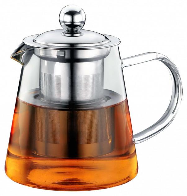 Чайник - заварник Con Brio СВ-5280 (800 мл) стекло | заварочный чайник | керамический чайник Con Brio