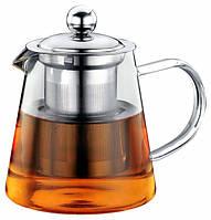 Чайник - заварник Con Brio СВ-5280 (800 мл) стекло | заварочный чайник | керамический чайник Con Brio, фото 1