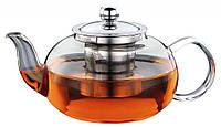 Чайник - заварник Con Brio СВ-6060 (600 мл) стекло | заварочный чайник | керамический чайник Con Brio, фото 1