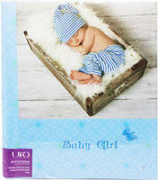 "Фотоальбом ""Baby blue"" 20sheet S22x3"