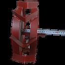 Колеса с грунтозацепами 340/100 с полуосью 25 мм круглая Булат, фото 3