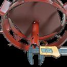 Колеса с грунтозацепами 340/100 с полуосью 25 мм круглая Булат, фото 2