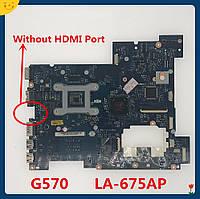 Материнська плата Lenovo IdeaPad G570 LA-675AP Rev:1.0 (S-G2, HM65, DDR3, UMA)
