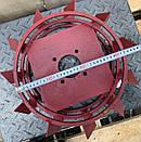 Колеса с грунтозацепами 400/150(10*10) МБ СТАНДАРТ(3мм) Булат, фото 3