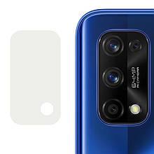 Гибкое защитное стекло 0.18mm на камеру (тех.пак) для Realme 7 Pro