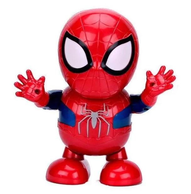 """Робот танцующий музыкальный WOW Dance Hero """"Человек паук"""" Интерактивная светящияся игрушка Spyder man"""