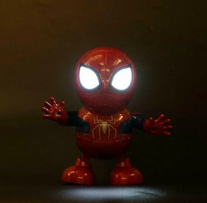 """Робот танцующий музыкальный WOW Dance Hero """"Человек паук"""" Интерактивная светящияся игрушка Spyder man, фото 2"""
