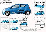 Молдинги на двері Suzuki для Alto 2008-2013, фото 9