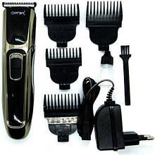 Парикмахерская Машинка для Стрижки Волос Gemei GM-6069. Работает от Аккумулятора и Сети