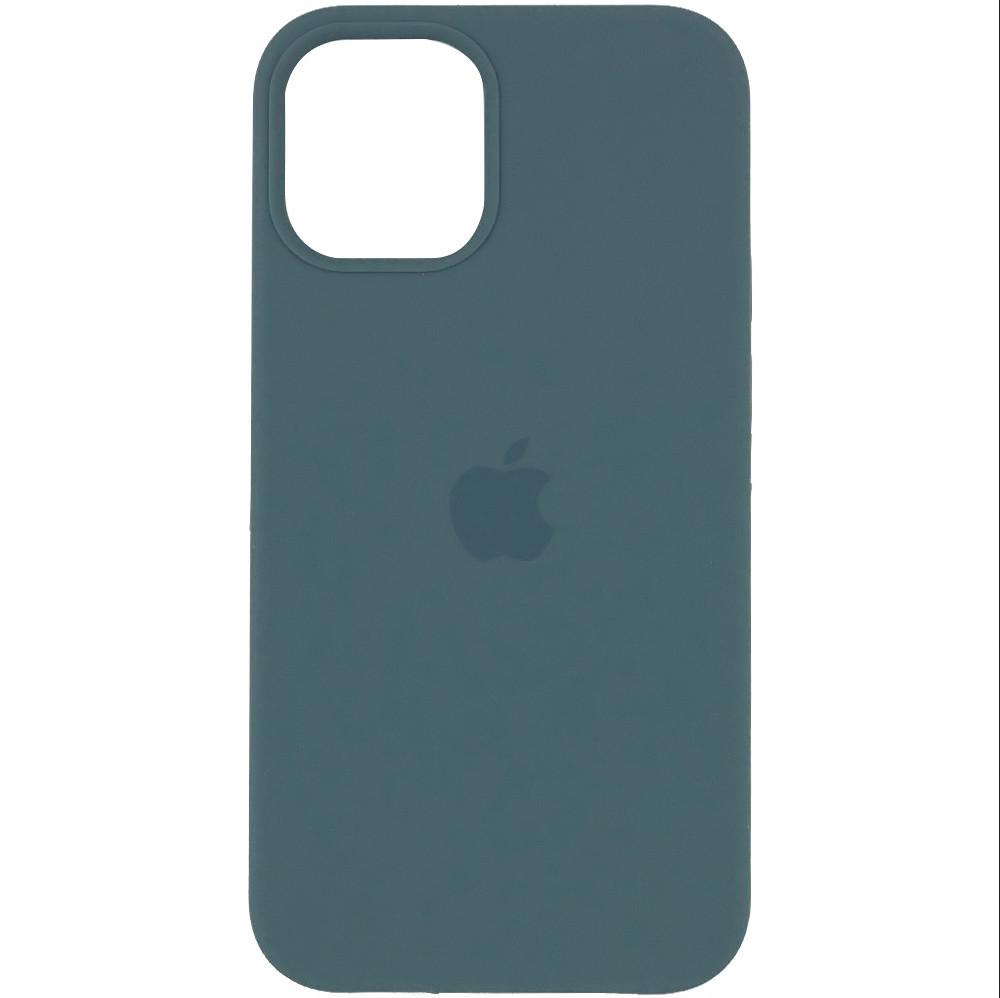 Силиконовый чехол Silicone case full cover для Apple iPhone 12 / 12 Pro | Cactus | DK