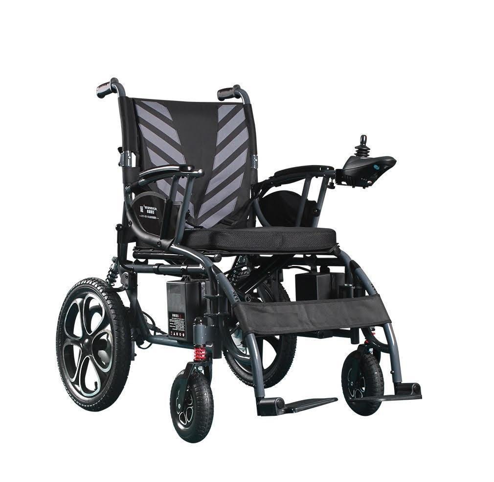 Складна електровізок D-6023. Інвалідна коляска. Крісло для інваліда. Крісло коляска.