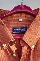 Чоловіча сорочка Jean Chatel в клітку Розмір L ( Я-64), фото 3