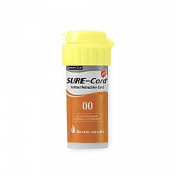 Sure-Cord PLUS (Шур-Корд Плюс) нить ретракционная с пропиткой хлоридом алюминия 00