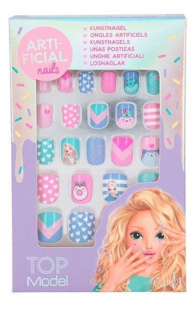 TOP Model Детский набор Candy для маникюра гель лак наклейки Fantasy Model  Candy Depesche 11278